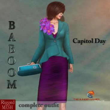 Baboom-Hungergames- Capitol Day-0