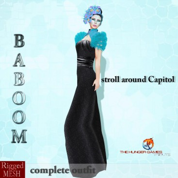 Baboom-Hungergames-stroll around Capitol-0