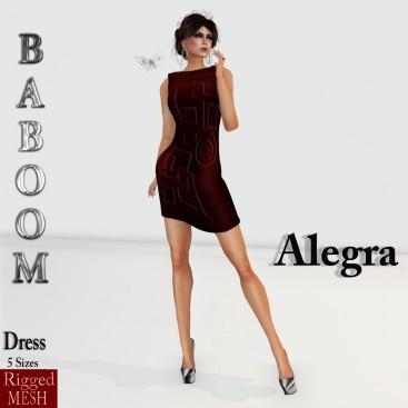 Baboom- alegra- red