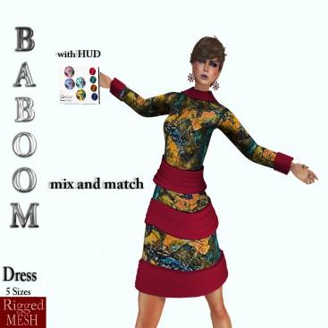 Baboom-mixand match meshDress-HUD-0