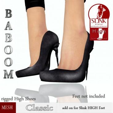 Baboom-classic- black -Slink high
