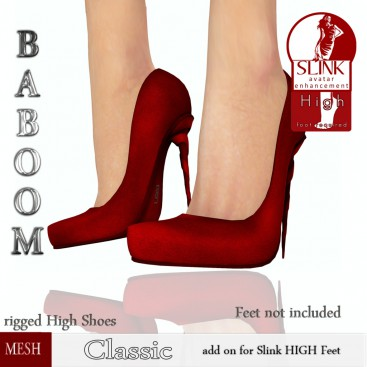 Baboom-classic- red-Slink high