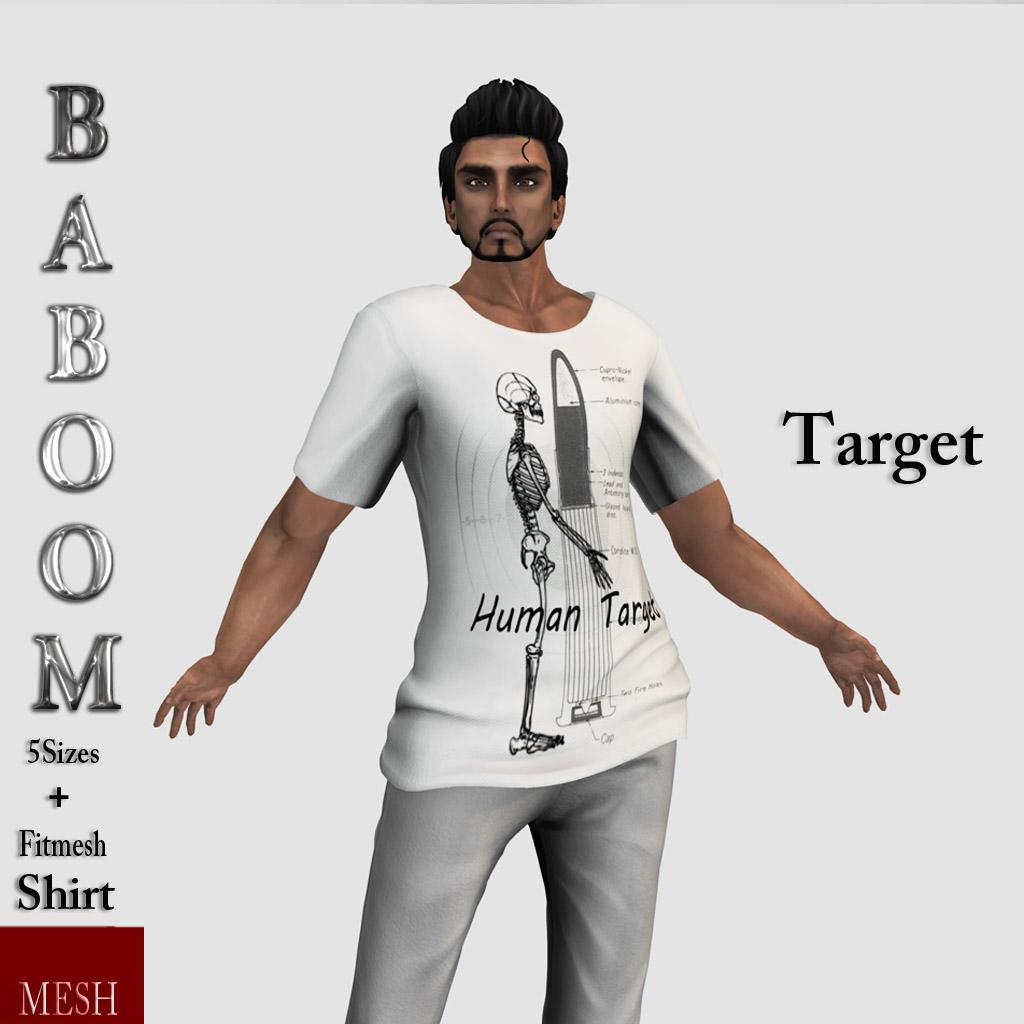 Baboom-Target -manshirt- light