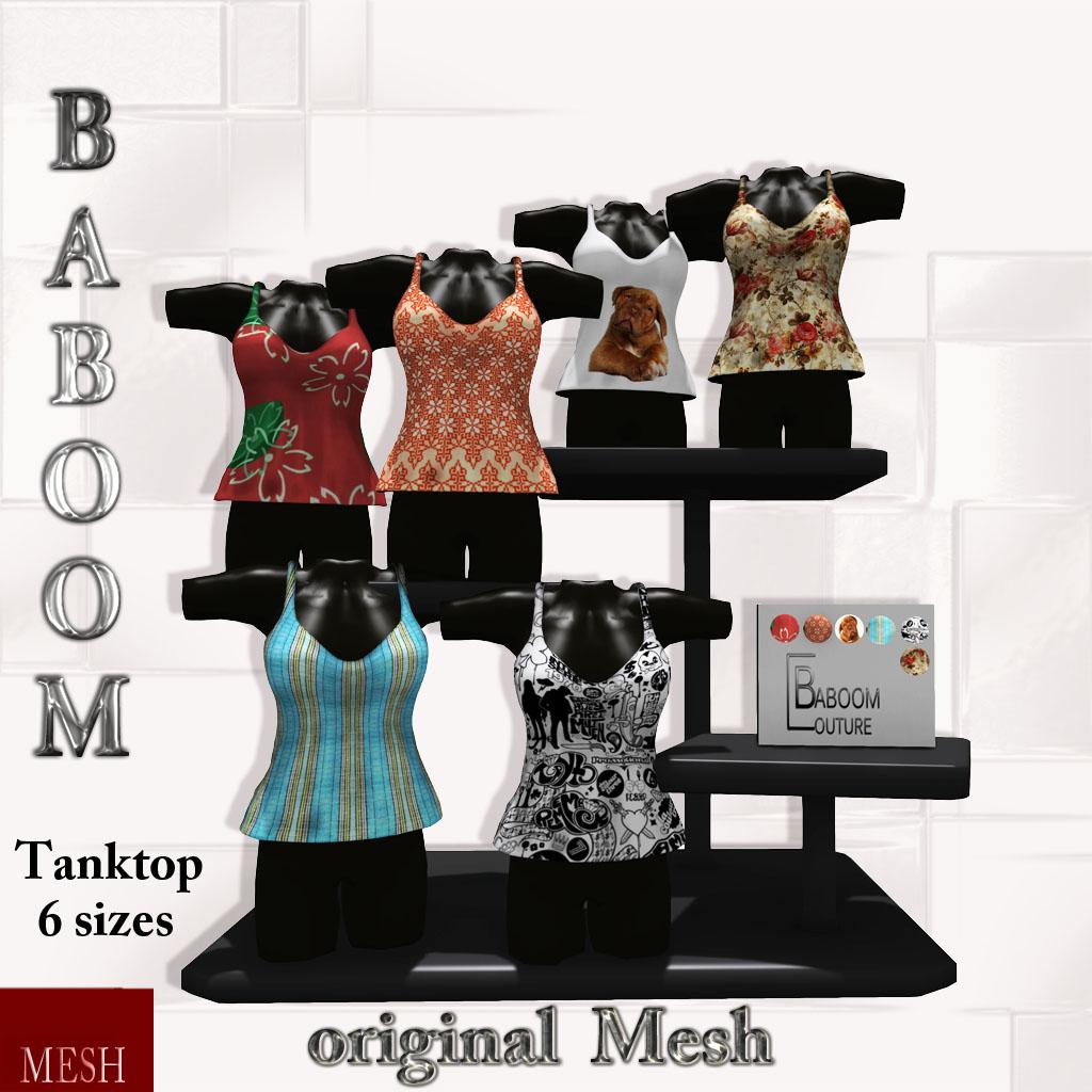 Baboom-Tanktop-the color