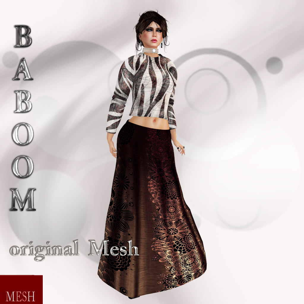 Baboom- original mesh Pulli skirt