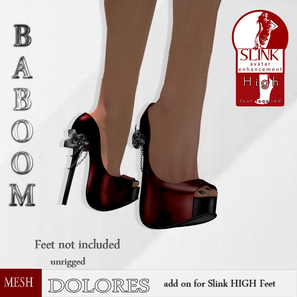 Baboom_DOLORES-SLINKhigh_ red