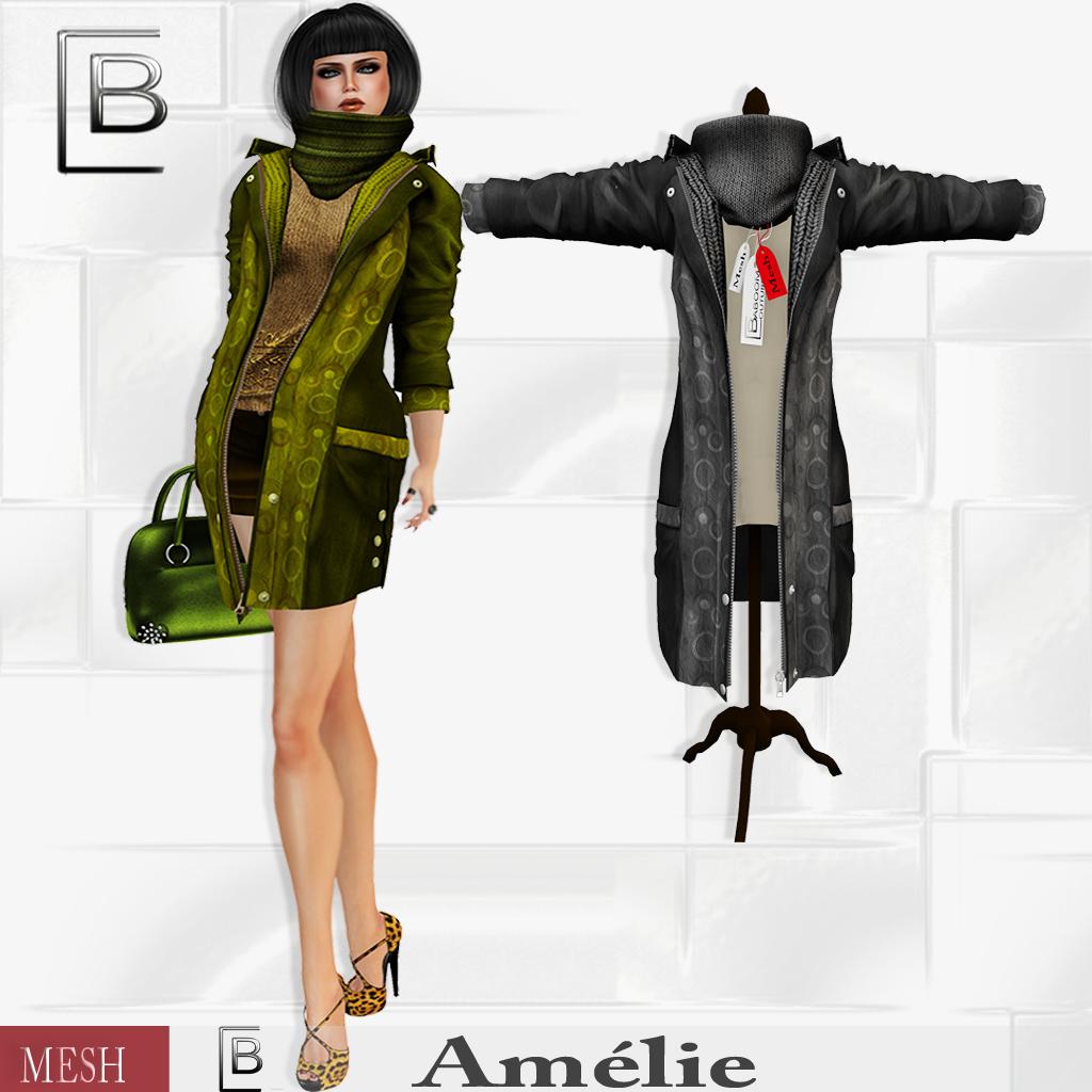 Baboom-Amelie-coat- mixed- black