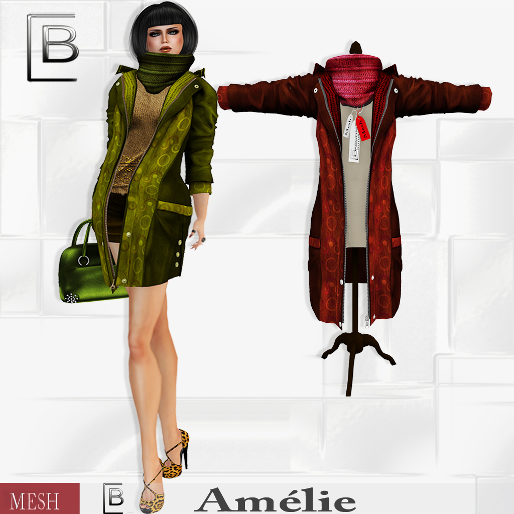 Baboom-Amelie-coat- mixed- red