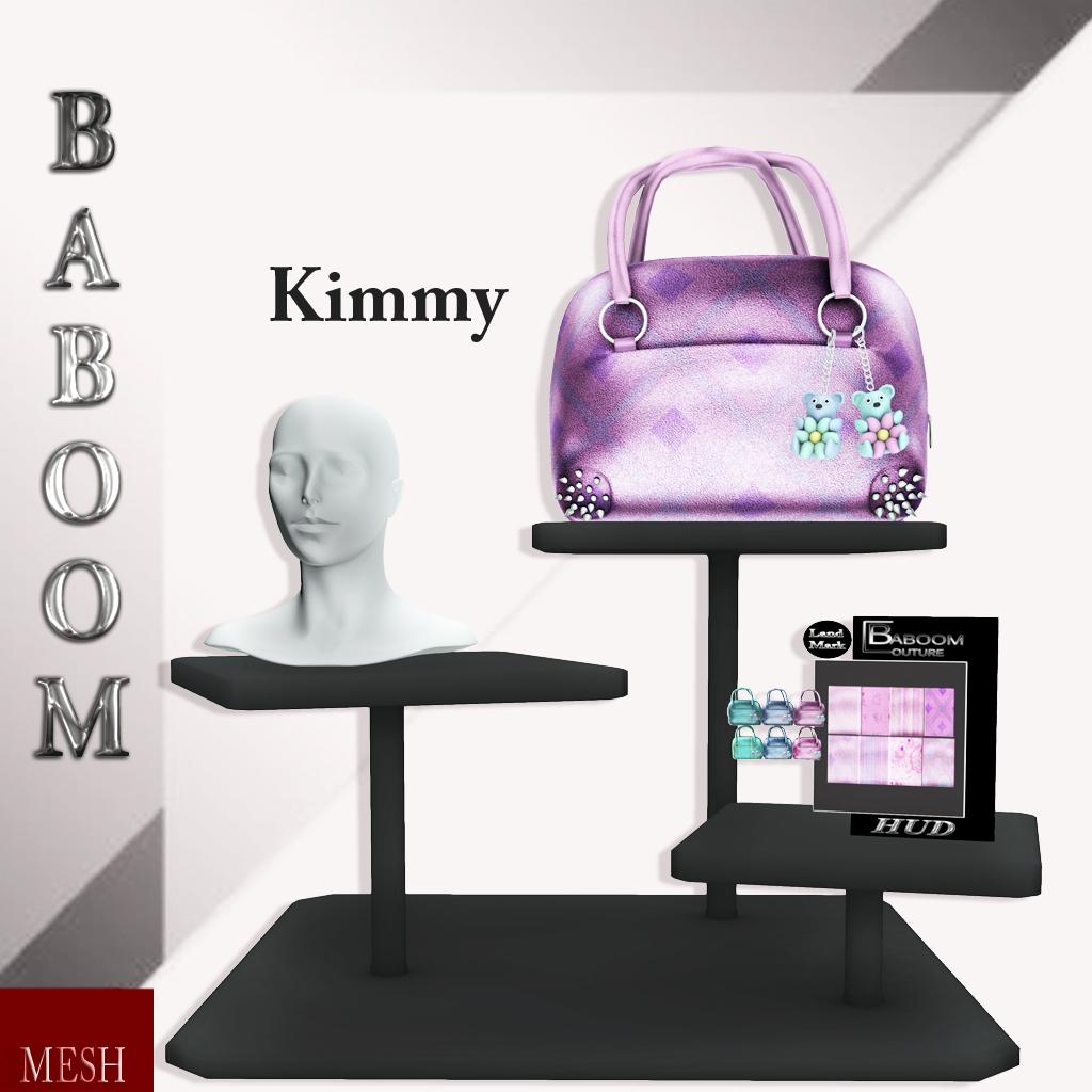 Baboom- Kimmy-handtasche- pink