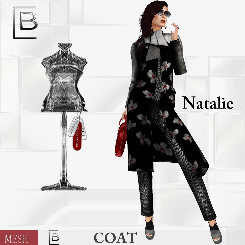Baboom-Natalie-mesh Coat