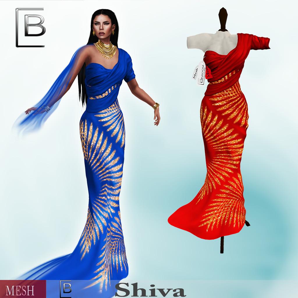Baboom-shiva-red