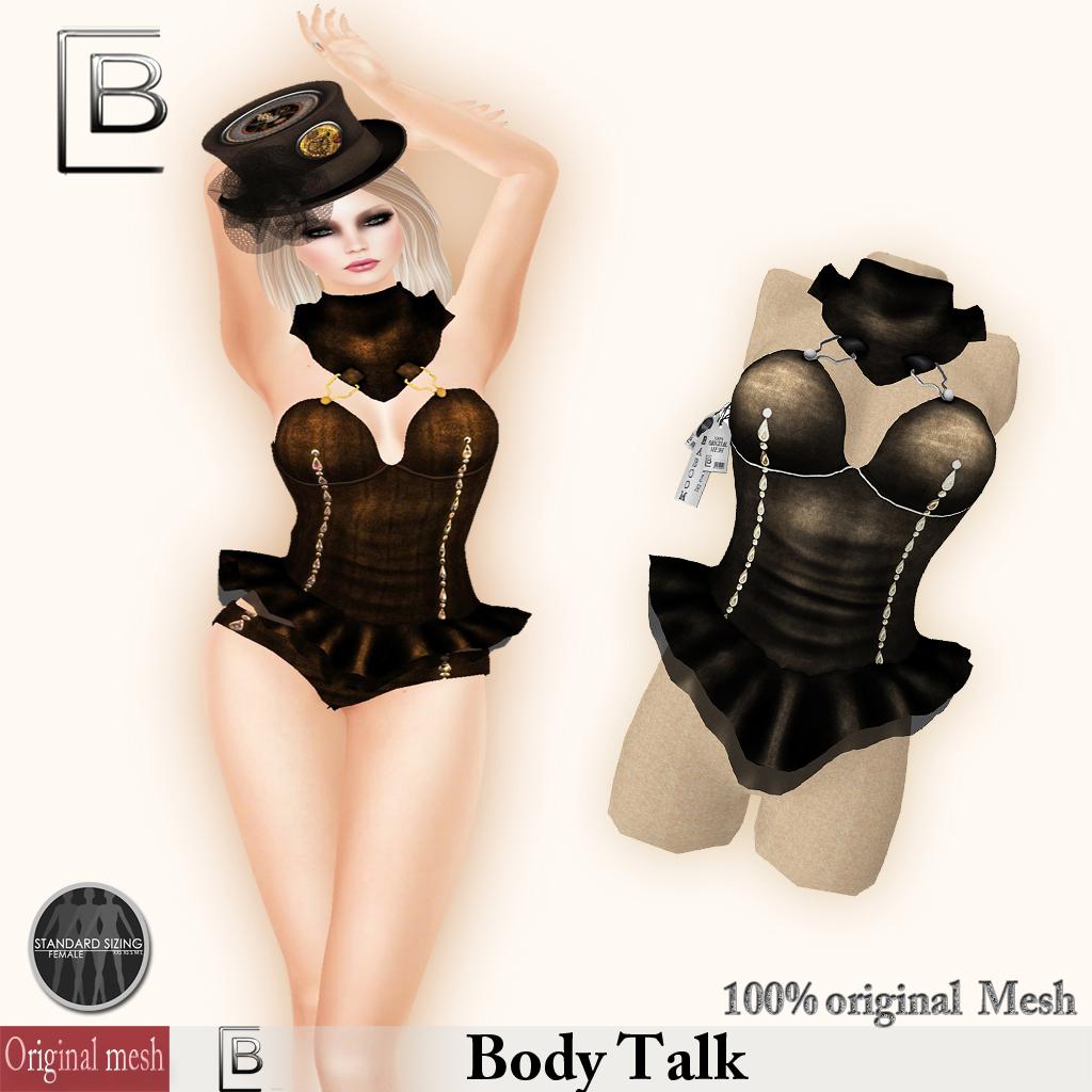 Baboom-Bodytalk-OriginalMesh-brown