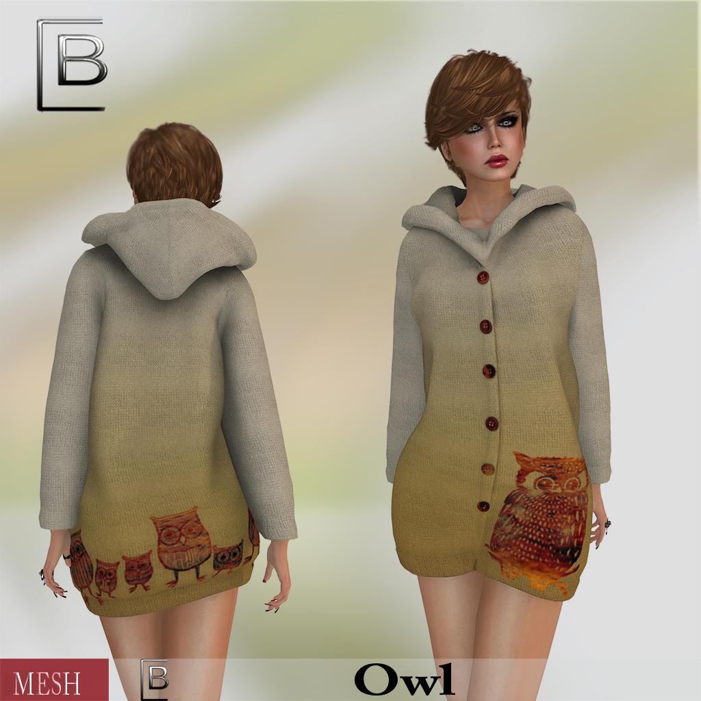 Baboom- eule -jacket