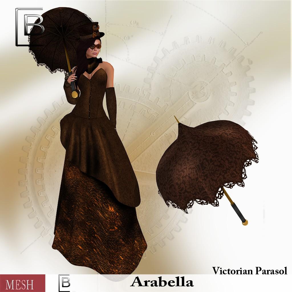Baboom-arabella Victorian Parasol