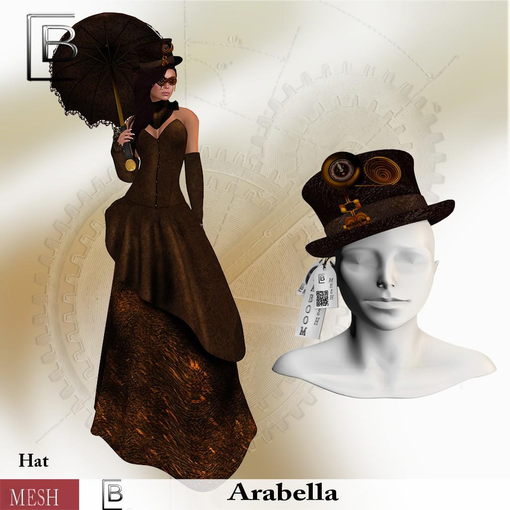 Baboom-arabella -hat