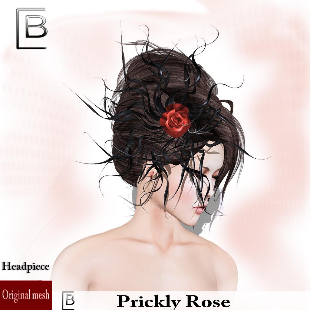 Baboom-prickly rose-black-hat
