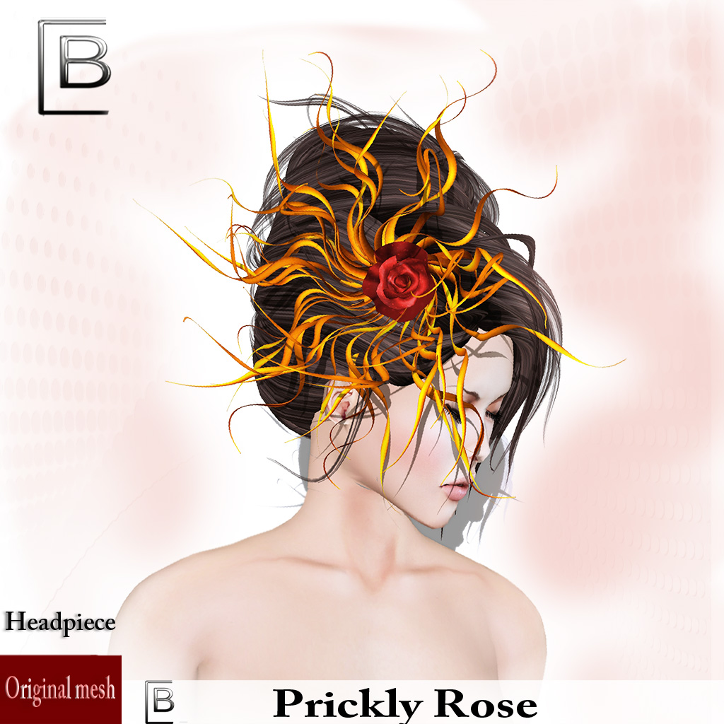 Baboom-prickly rose-flame-hat