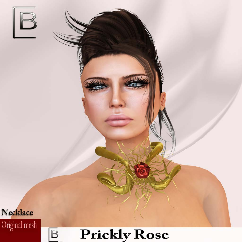 Baboom-prickly rose-gold-necklace