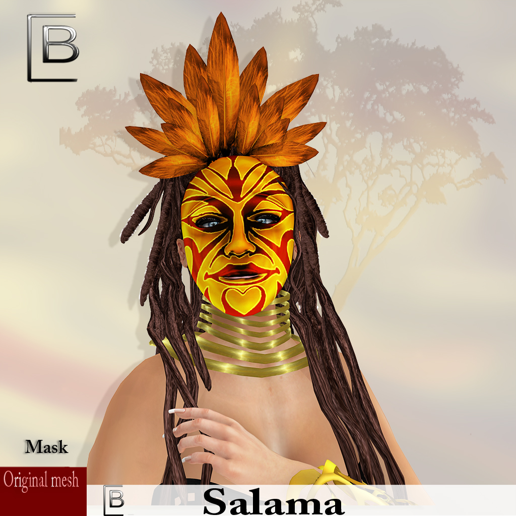 maske Salama-redyellow -originalmesh