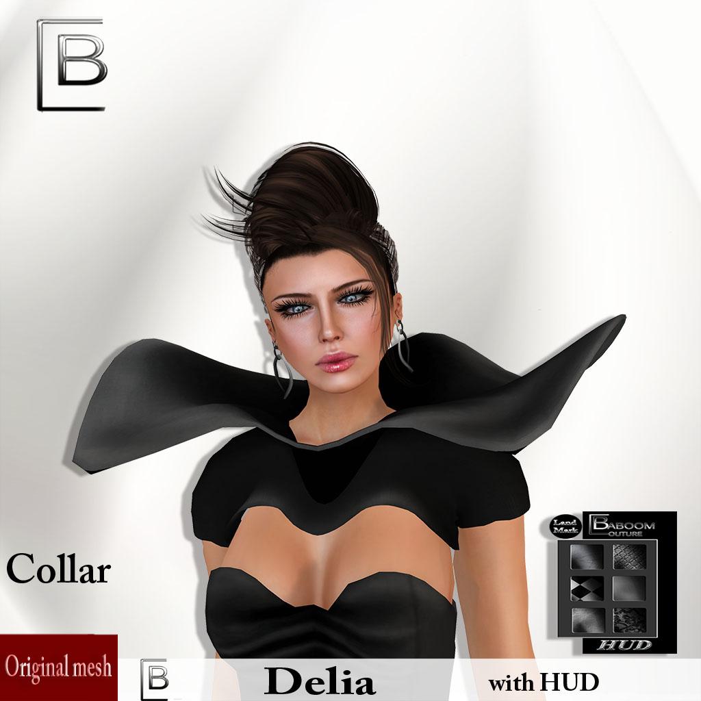 Baboom-Delia -  collar-HUD