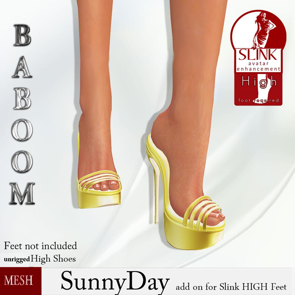 Baboom-SynnyDay-yellow-highSLINK