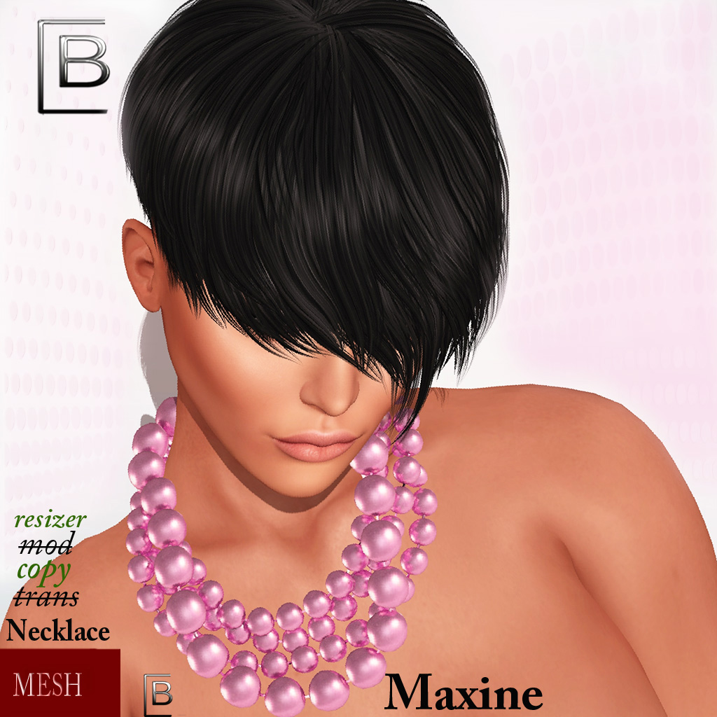 Baboom-maxine Necklace-pinky