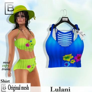 Baboom-Lulani- original shirt- blue