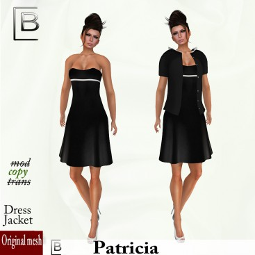 Baboom- Patricia-dress-jacket black