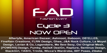 FAD  - Now Open