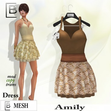 Baboom-AMILY-dress- brown