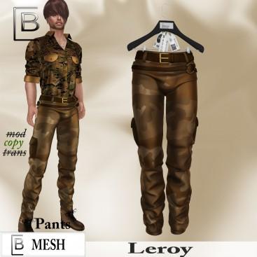 Baboom-Leroy- pants-camouflage -brown