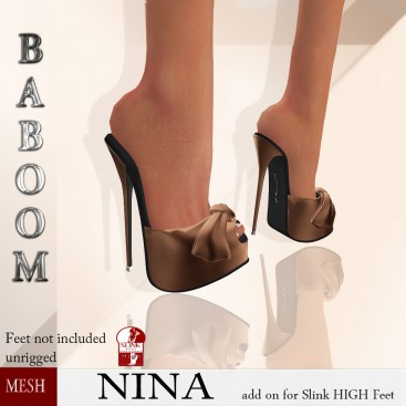 Baboom-NINA-Slink high- brown