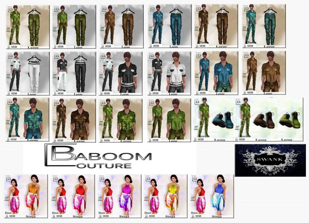 Baboom- SWANK August