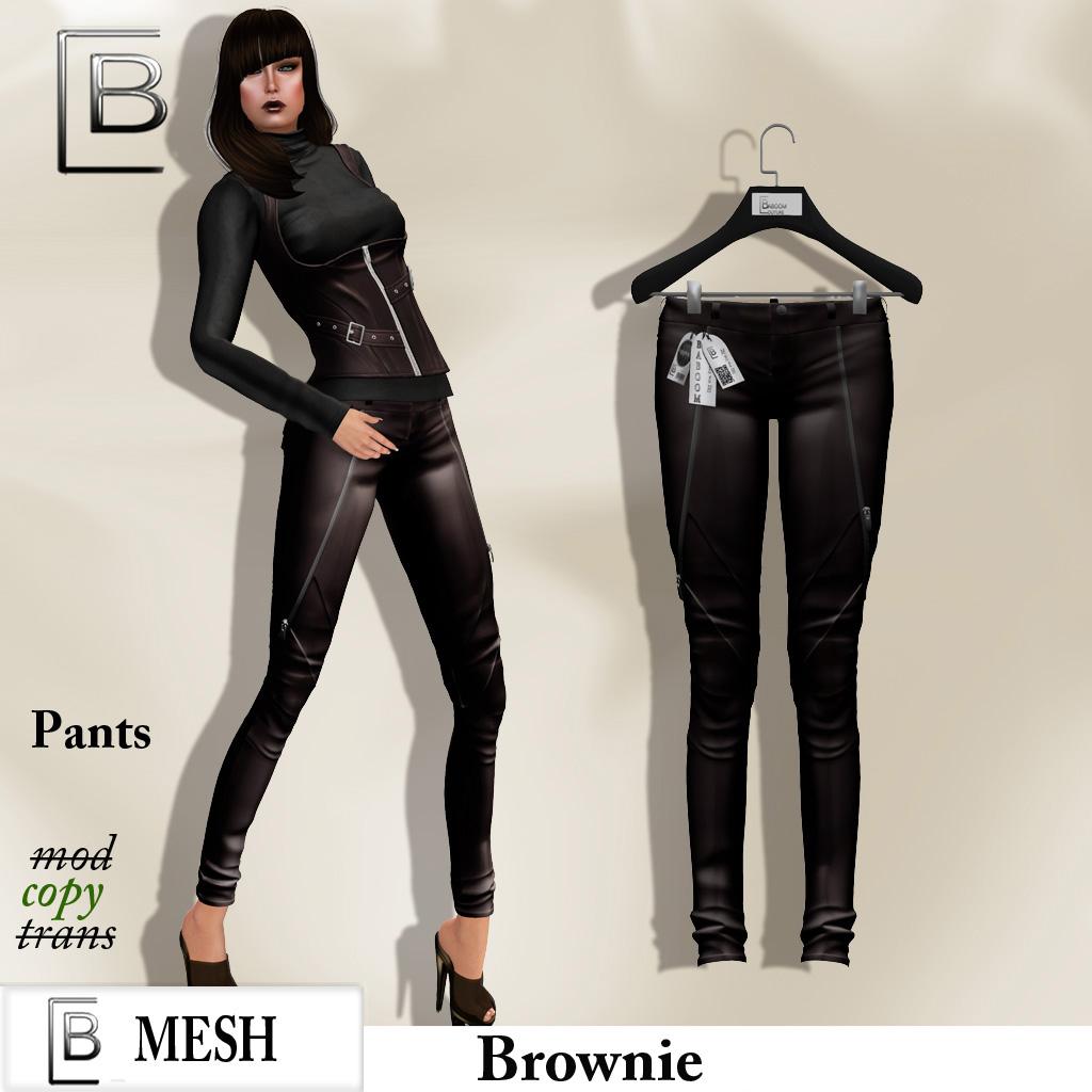 Baboom- brownie pants