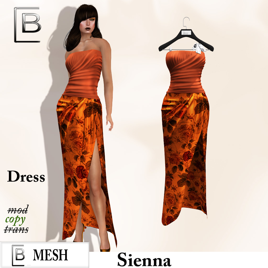 Baboom- sienna gown-dress