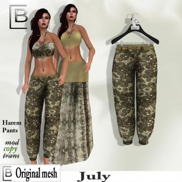 Baboom-July- Harempants  -uni