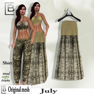Baboom-July- Skirt long-uni