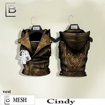 Baboom-Cindy- weste-rose