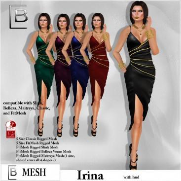 Baboom-Dress IRINA- Hud
