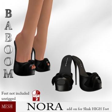 Baboom-Nora Black-slinkHigh