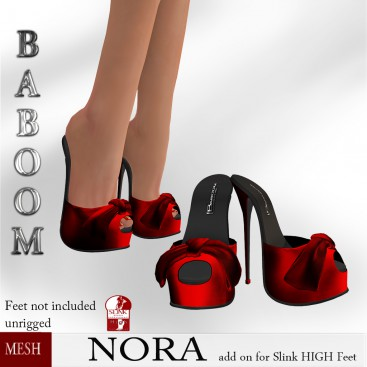 Baboom-Nora RED- slinkHigh