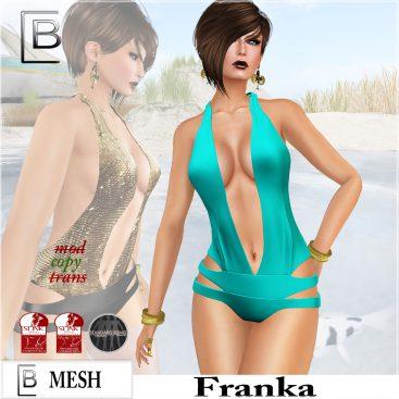 Baboom-Franka-swimsuit-aqua plain