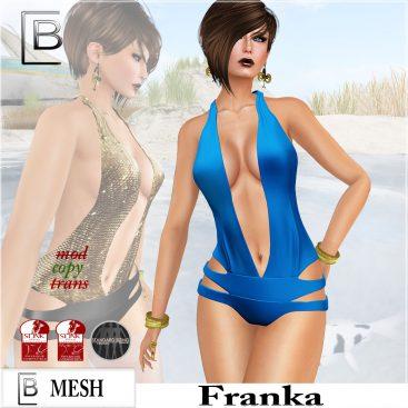 Baboom-Franka-swimsuit-blue plain