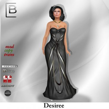 baboom-desiree-gown-blacksilver