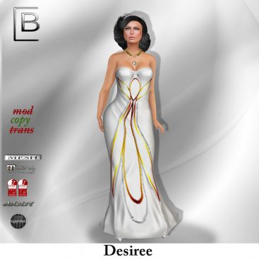 baboom-desiree-gown-silver